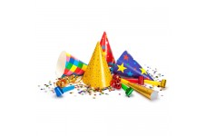 Water Soluble Paper for the Production of Party Decorations