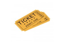 Water Soluble Paper for Tickets